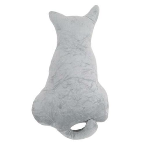 Cute Cat Shape Decor Back Rest Cushion Pillow W