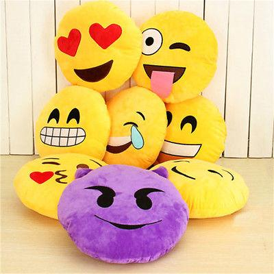 Cute Emoji Emoticon Cushion Poo Shape Pillow Doll Toy Throw