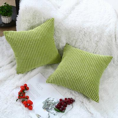"Decor Pillow Square Pillowcase Cushion 18"" 18"" x 45"