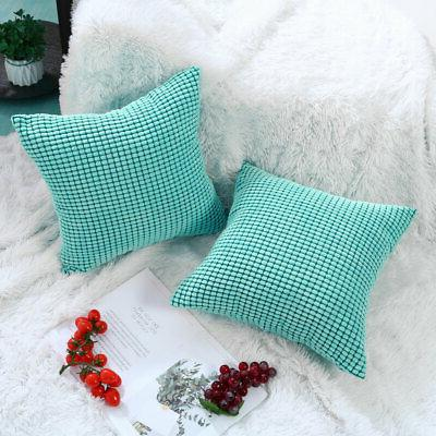 "Decor Throw Covers Square 18"" 18"" 45 x 45 cm"