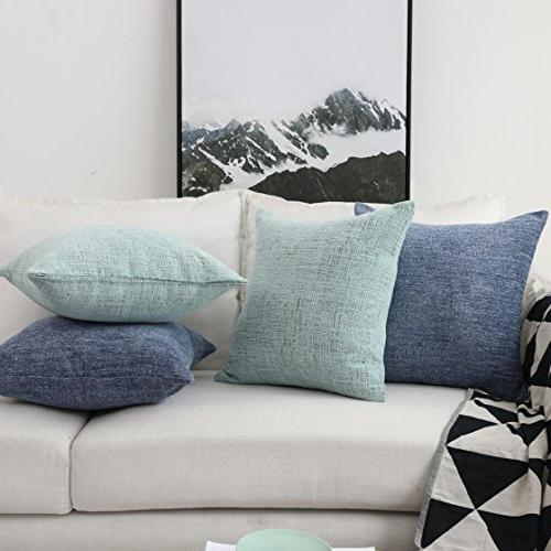 HOME Decor Pillow Supersoft Velvet Cover Couch 18x18