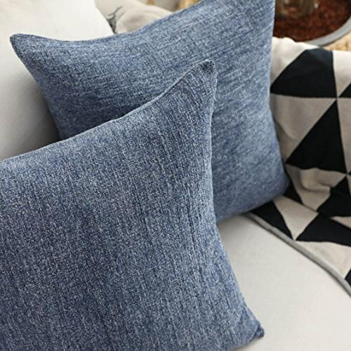 HOME Pillow Supersoft Velvet Cushion Cover 18x18 inch