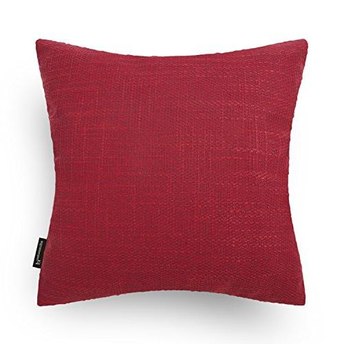 decoractive button series red throw