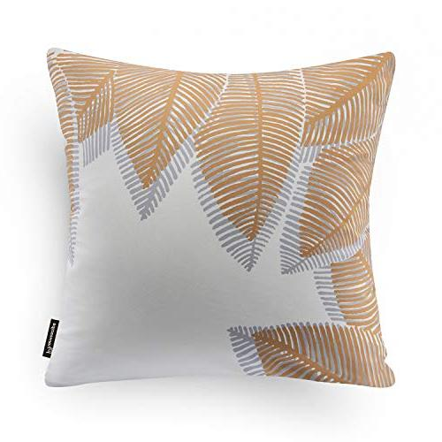 "Phantoscope Set Decorative Autumn Series Throw Pillow Cushion Cover 18"" x 18"" 45x45cm"