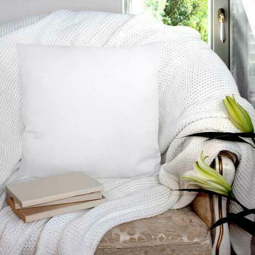 """Decorative Insert Pack of 2 Couch Pillows 16"""" x 16"""""""