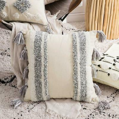 MIULEE Decorative Cover Tribal Tufted