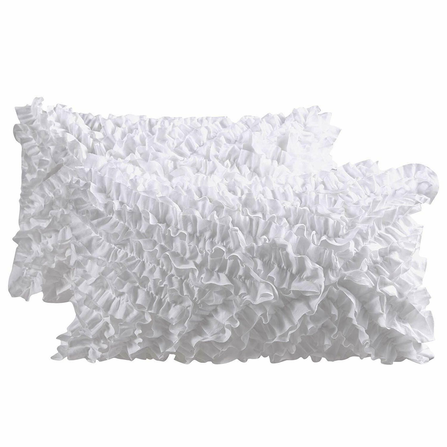 Decorative Pillow Covers - Pillow Cushion-White