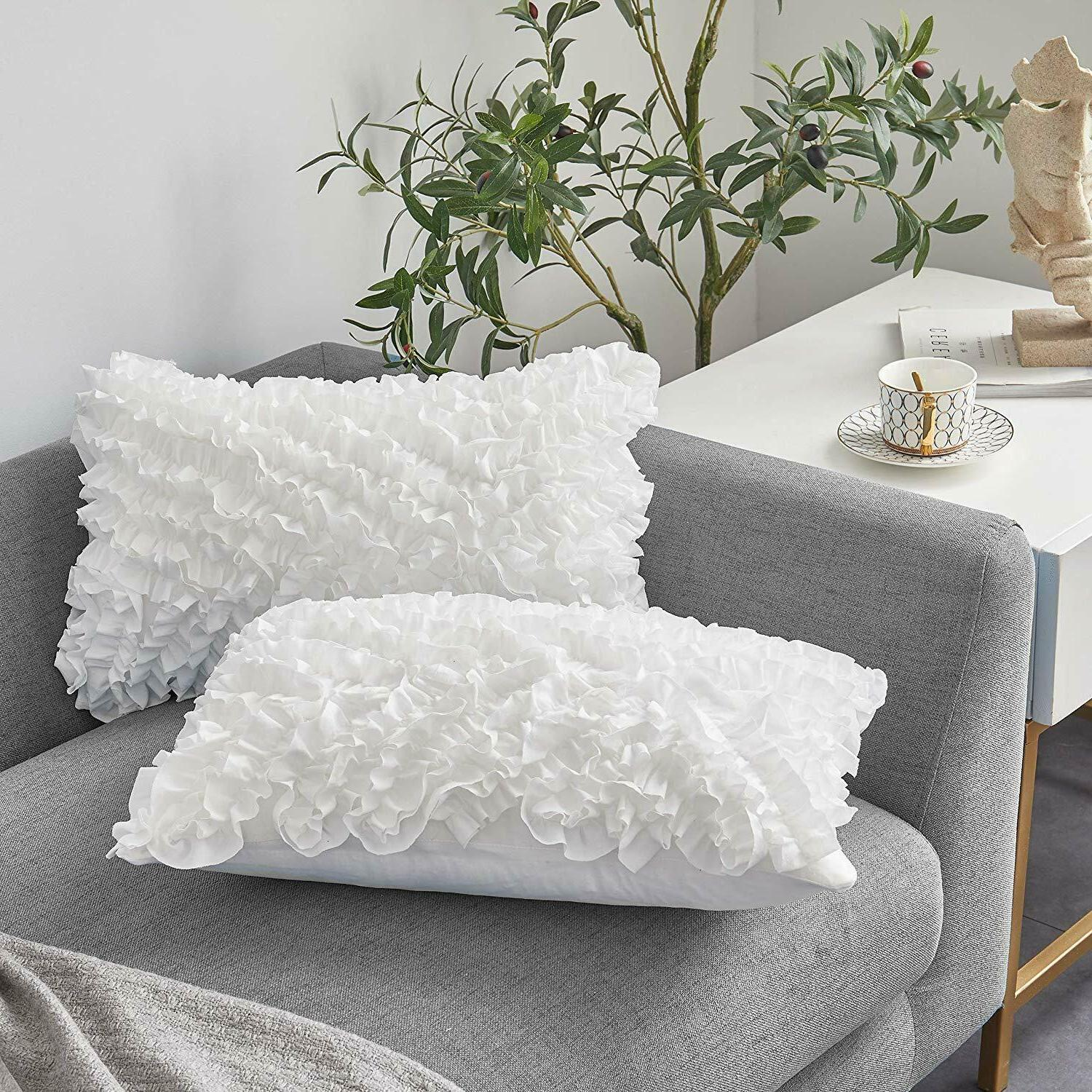 decorative throw pillow covers set of 2
