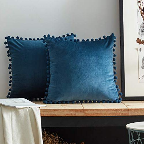 decorative throw pillow covers soft