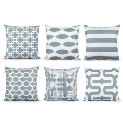decorative throw pillow covers soft microfiber outdoor