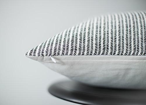 Woven Decorative Pillow Covers for Set x Modern Quality Design Cotton Stripes