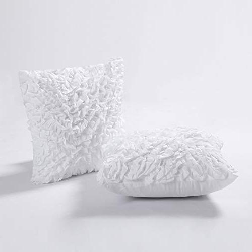 MoMA Covers - Pillow White Throw Cover - Decorative Pillow Cover - Decorative -