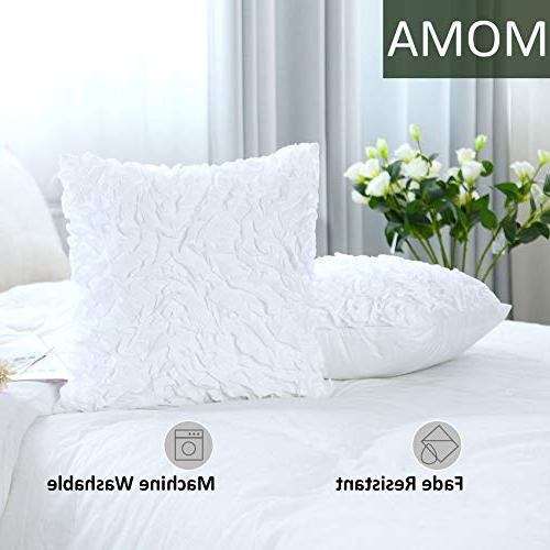 MoMA Decorative Covers - Pillow Sham Cushion - White Throw Pillow - Decorative Throw Pillow Cover - Decorative Pillowcase -