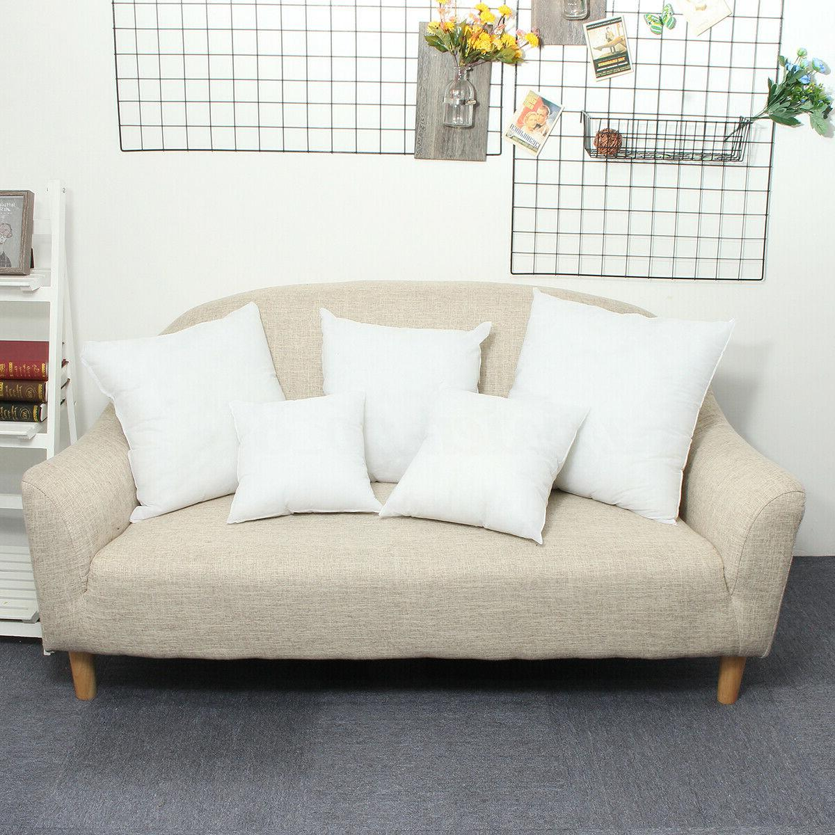 Euro Cushion Pillow Sofa Pillowcase Insert