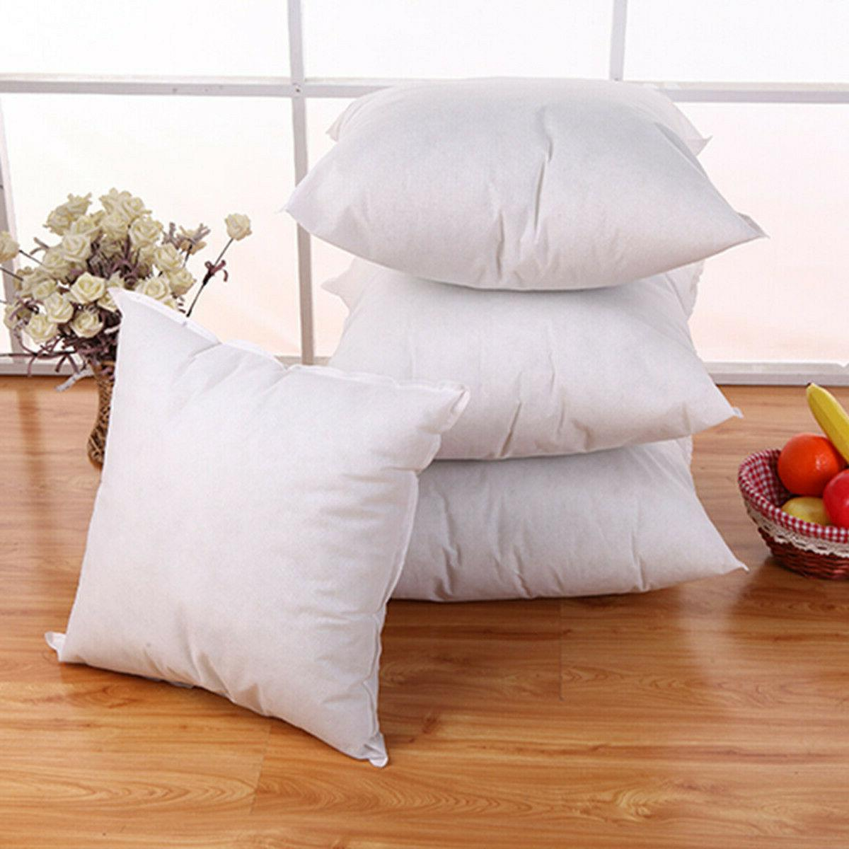 Euro Cotton Cushion Pillow Sofa Insert Filler