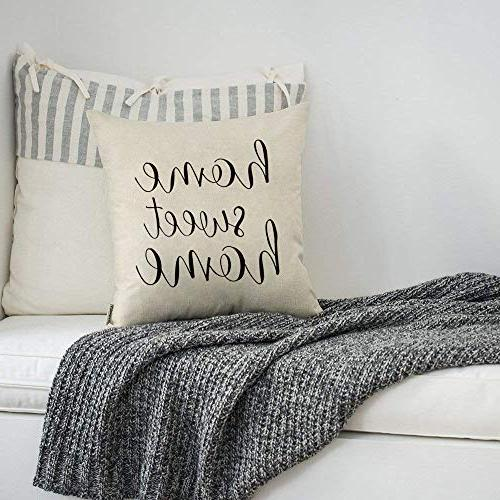 Meekio with Home Sweet Home Quotes 18 x Inch for Decor Perfect Gifts