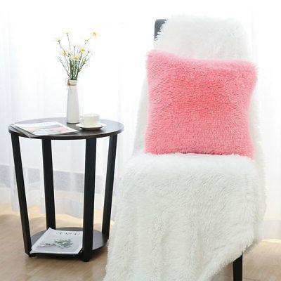 Faux Cover Fluff Soft Case for Sofa Couch