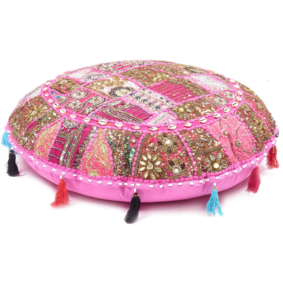 Floor Round Meditation Patchwork Covers
