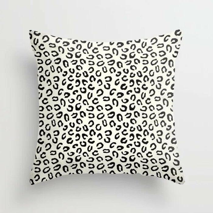 Geometric cushion cover sofa