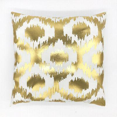 Gold Shining Throw Sofa Cover Decor