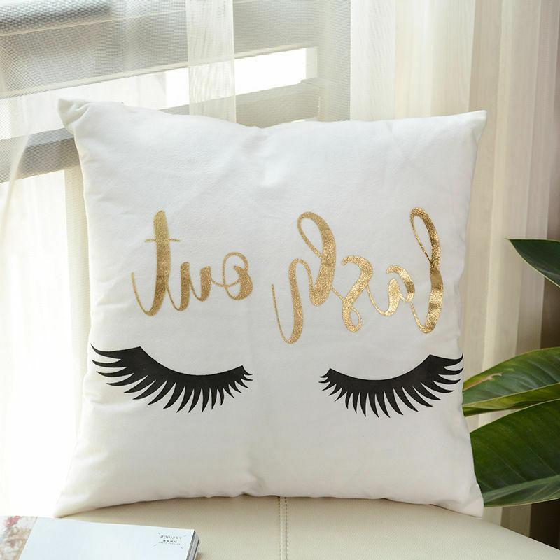 Gold Throw Pillow Sofa Decor