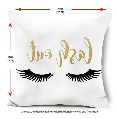 Gold Shining Throw Pillow Sofa Decor