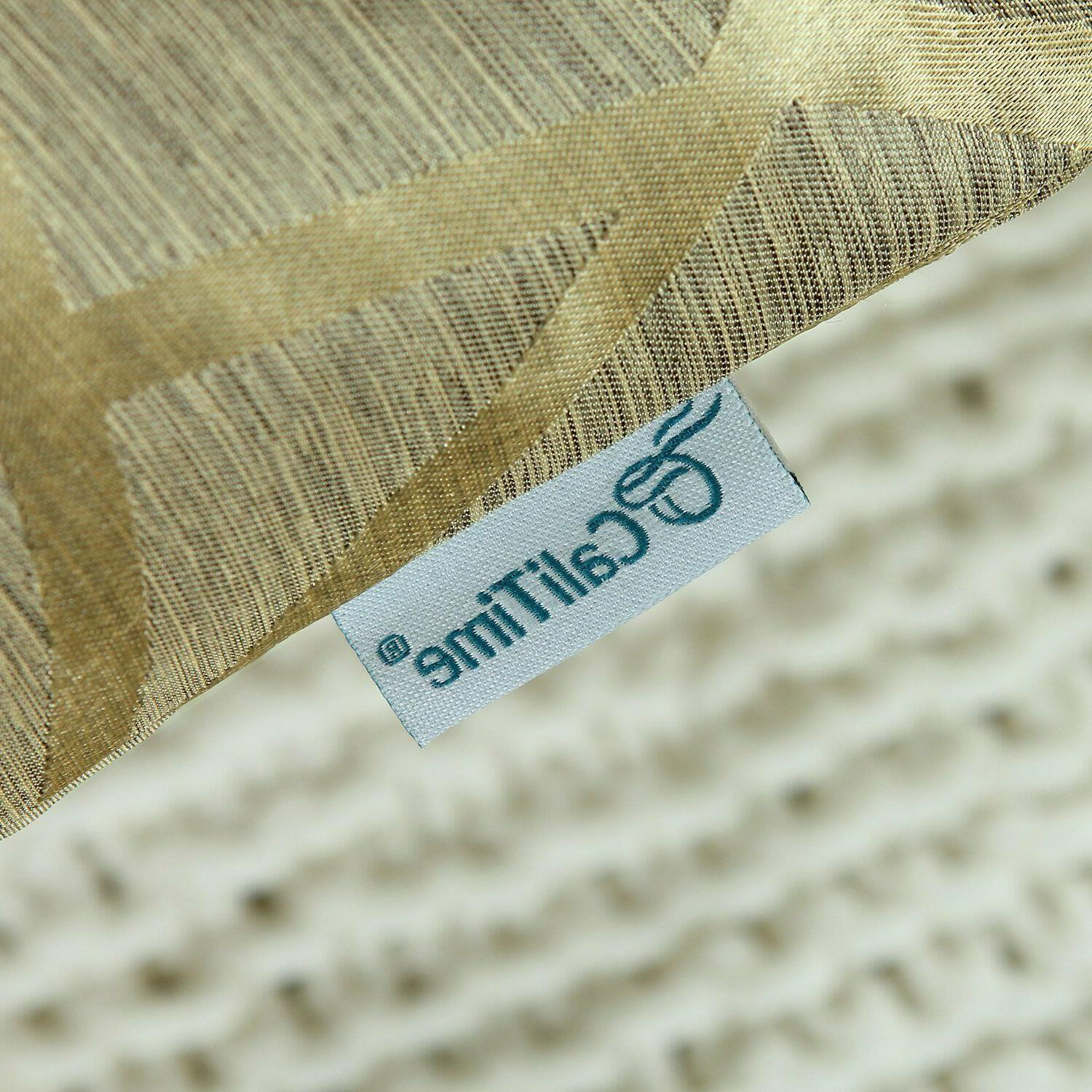 Gold Pillow - Calitime Pack of 2