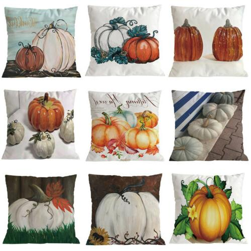 Halloween Pillow Cover Decor Pillow Waist Throw