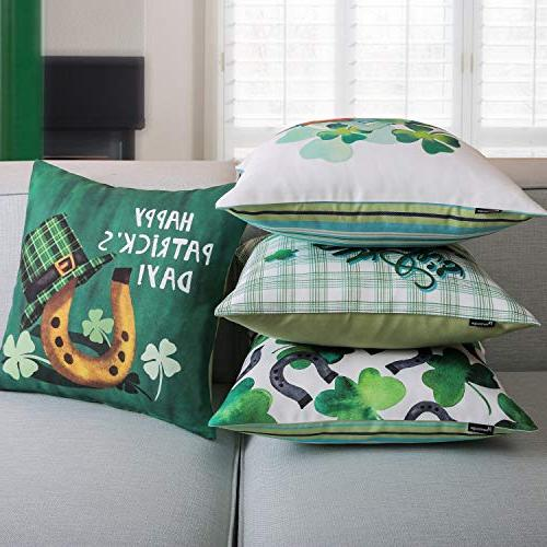 Day Green Throw Pillow Cushion Cover Set of 45