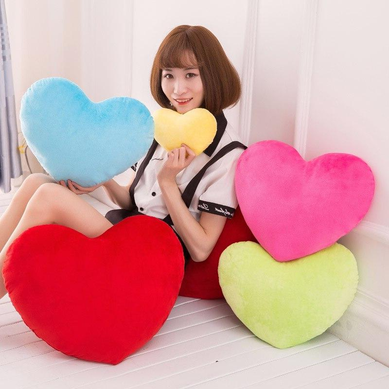 Heart Cushion Stuffed Plush Toy <font><b>Throw</b></font> Cushion Wedding