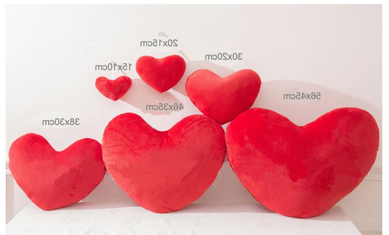 Heart <font><b>Shape</b></font> <font><b>Pillow</b></font> Cushion Stuffed Doll <font><b>Throw</b></font> <font><b>Pillow</b></font> Decorative Cushion Wedding Decoration