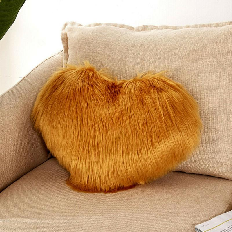 Solid Shaped Throw Pillow Cushion Gift Decoration