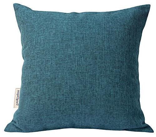 heavy lined linen cushion cover
