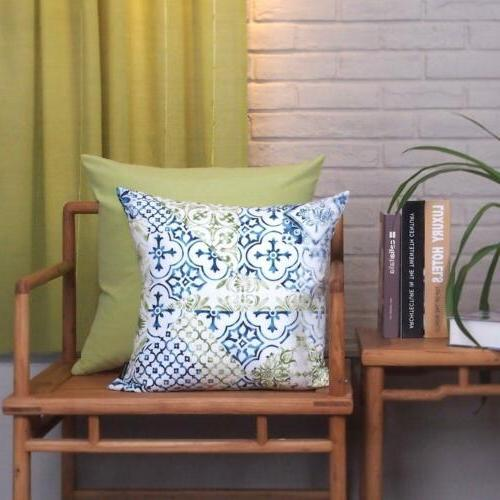 Home Pillow Case Throw Cushion Inserts New