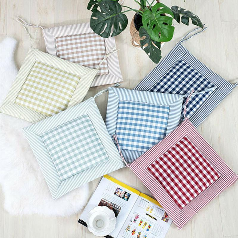 Indoor <font><b>Home</b></font> Chair Mat Office Cushion Pads On-Square Modern Printed