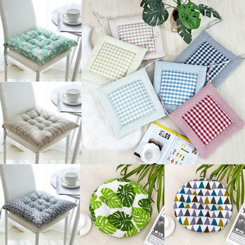 Indoor Chair Cotton Mat Pad Dining Cushion Modern