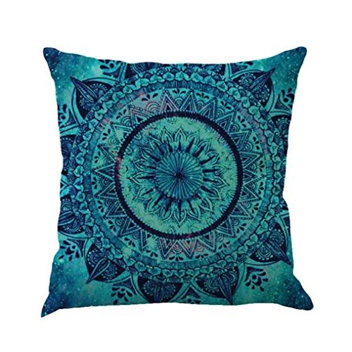 kimloog mandala pillow case bohemia