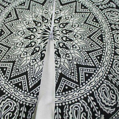 Mandala Indian Print Pillow Throw Round Cushion Cover