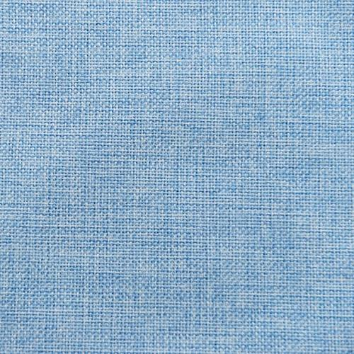 HOME BRILLIANT Linen Cushion Covers 2 Throw Covers for Bench, x 18 Blue