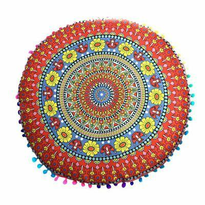 Pillow Throw Round Cushion Cover