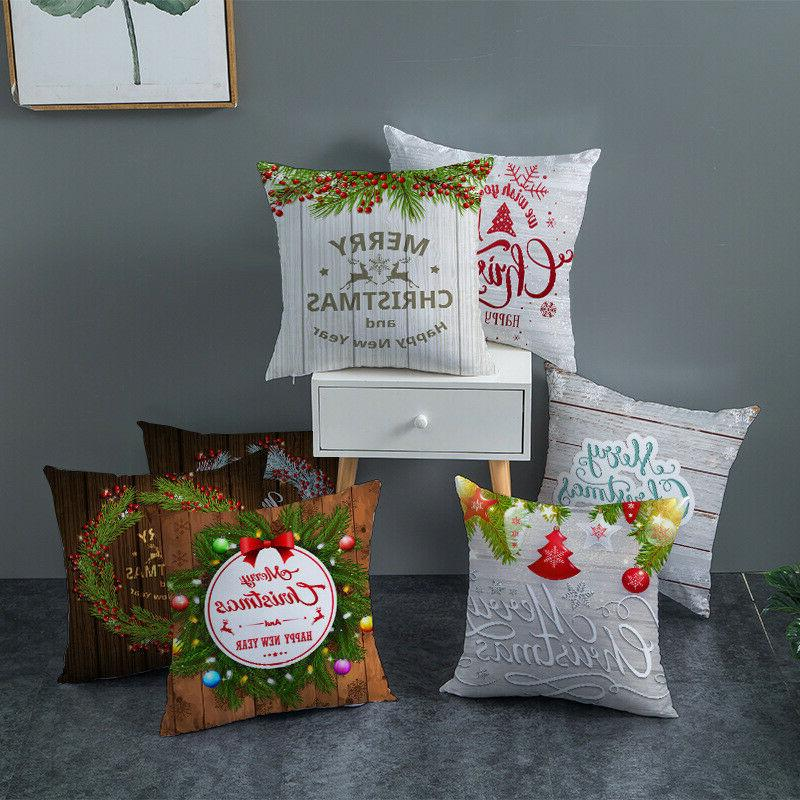 Merry Christmas case throw cushion sofa Decor