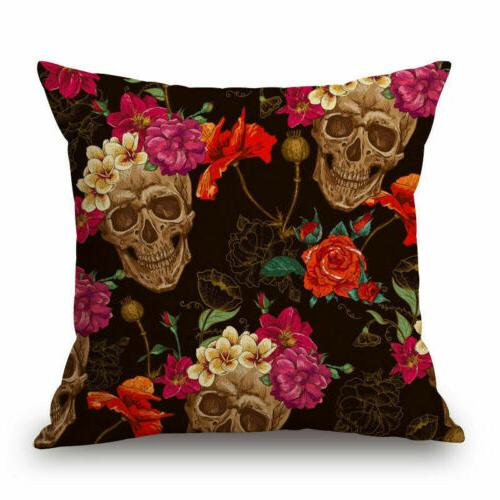 Skull Art Pillow Case