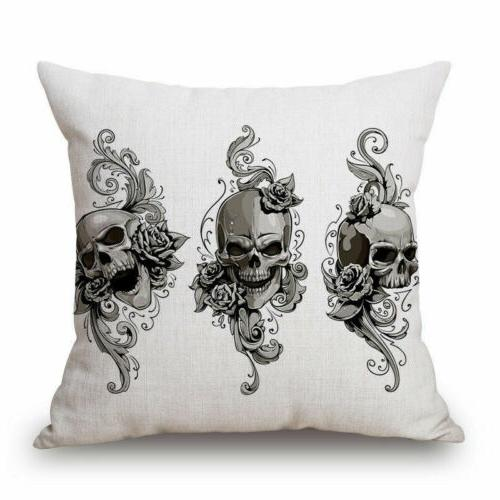 Mexican Indiana Sugar Skull Case Cushion