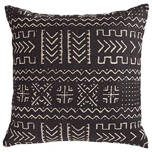 mudcloth inspired pillow