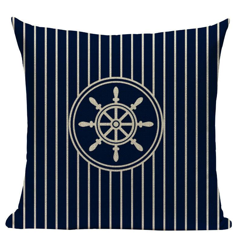 nautical throw Anchor Sea Case Decorative