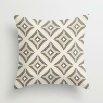 NEUTRAL Pillow Covers, Decorative Throw Home Grey Beige, Love,