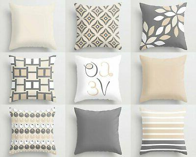 neutral pillow covers decorative throw pillows home