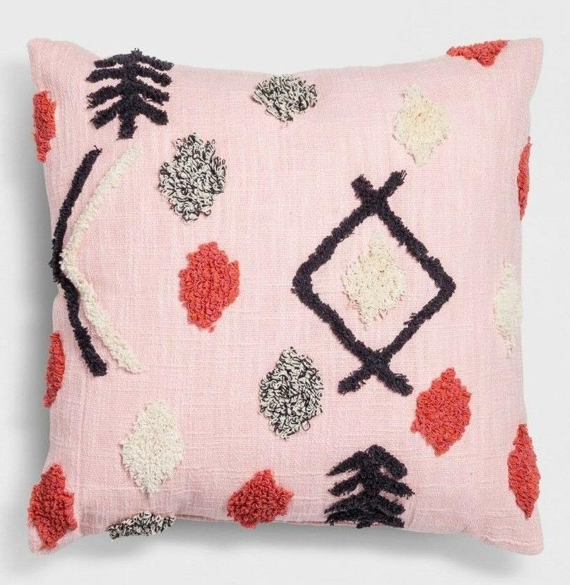 *NEW SET Opalhouse Pink Throw Pillows Square