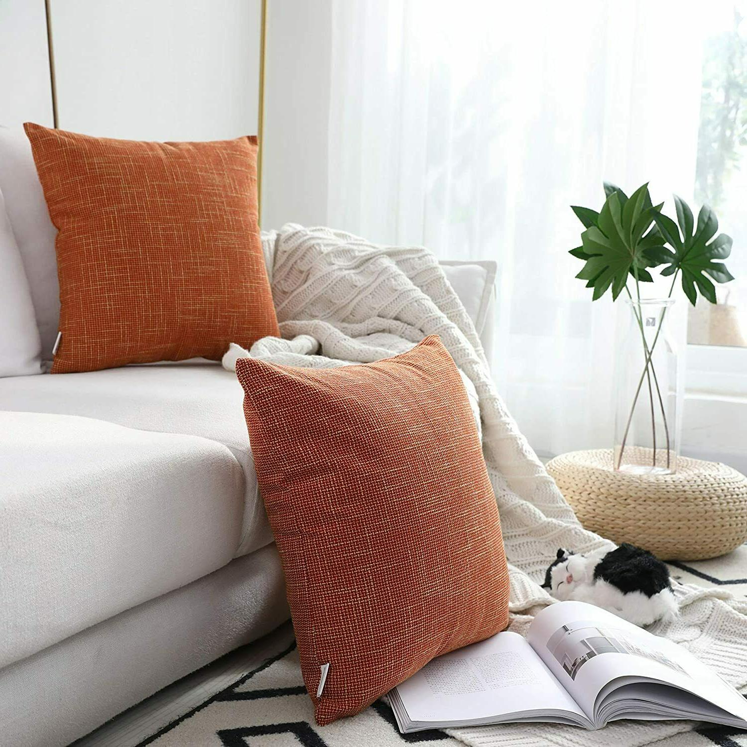 pair throw pillow covers by s 22