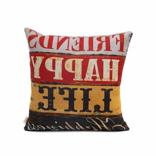 HOSL LOVE Series Decorative Cushion Cover Square Throw Pillow